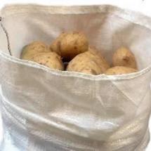 Bolsa papas cerrada blanca